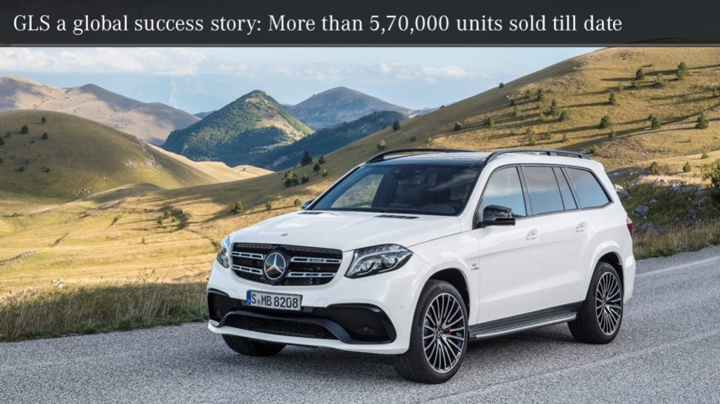 Mercedes-Benz launches the new GLS – The S- Class of SUVs