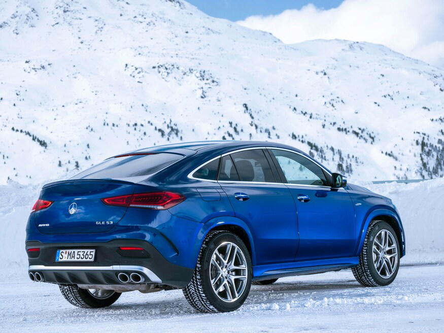 Mercedes-Benz launches the all-new AMG GLE 53 4MATIC+ Coupé
