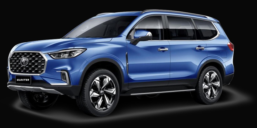 MG Motor India unveils Gloster, India's First Autonomous Premium SUV