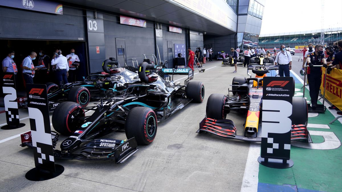 A tale of numbers in Formula 1 2020